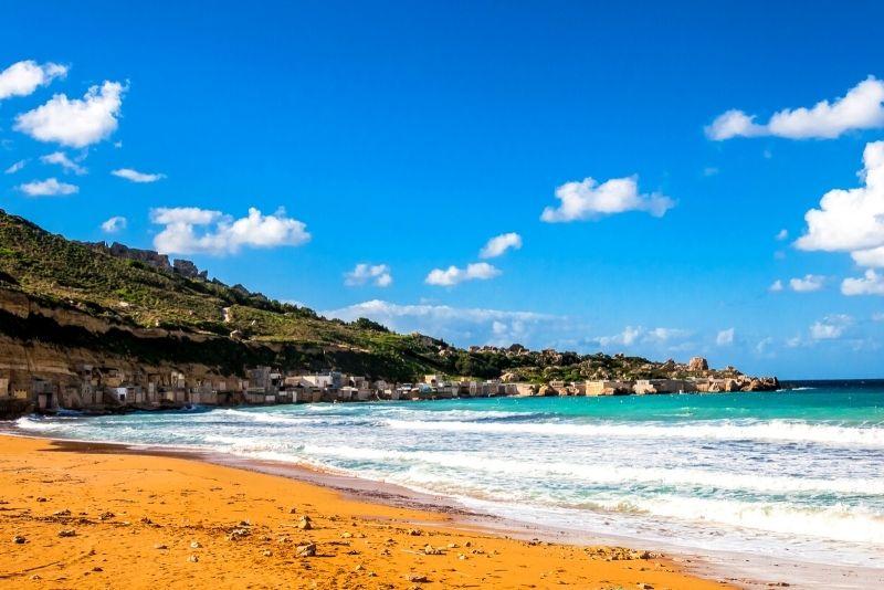 Gnejna Bay Beach, Malta