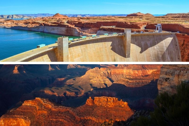 Grand Canyon West plus Hoover Dam VIP Day Tour from Las Vegas