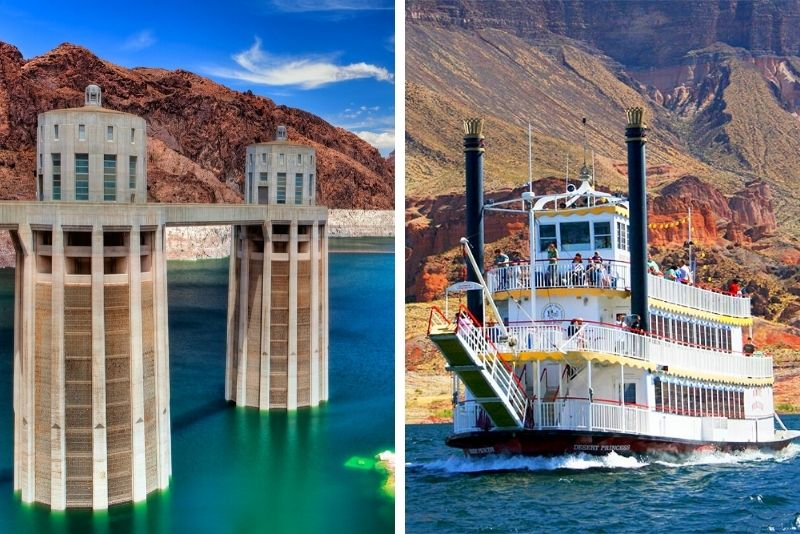 Hoover Dam Guided Tour with Lunch & Lake Mead Cruise