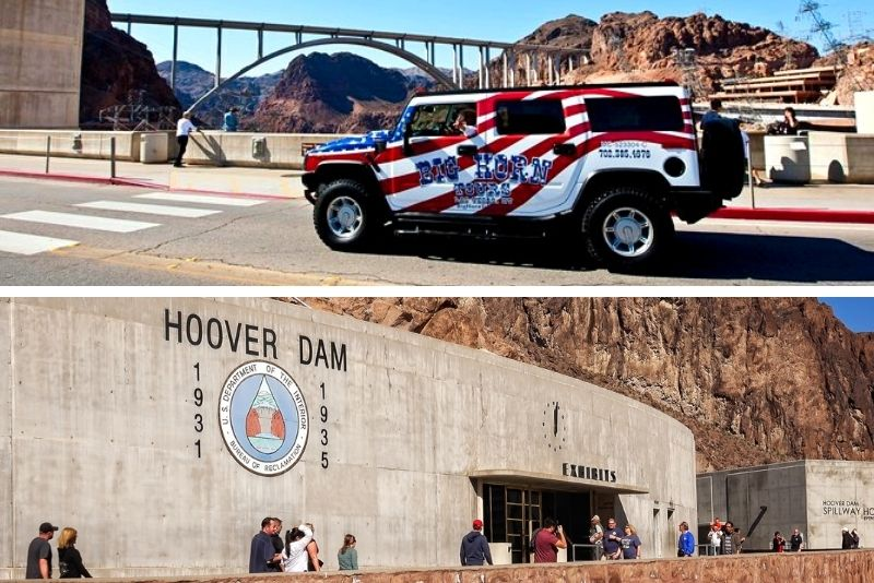 Hoover Dam Hummer Tour from Las Vegas