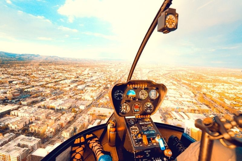 Los Angeles helicopter tour
