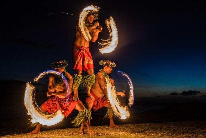 Maui Luau show