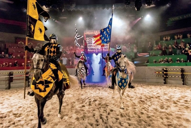 Medieval Times Dinner & Tournament, Los Angeles