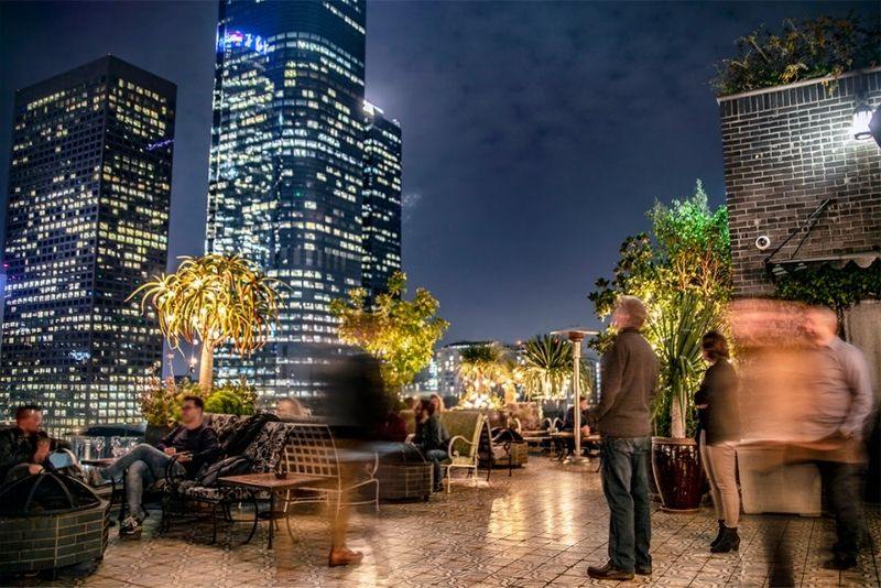 Perch rooftop restaurant, Los Angeles