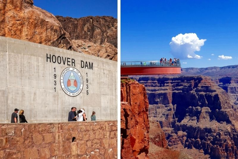 Private Grand Canyon West Rim and Hoover Dam Combo Tour from Las Vegas