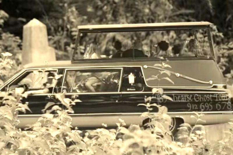 Savannah haunted hearse ghost tour