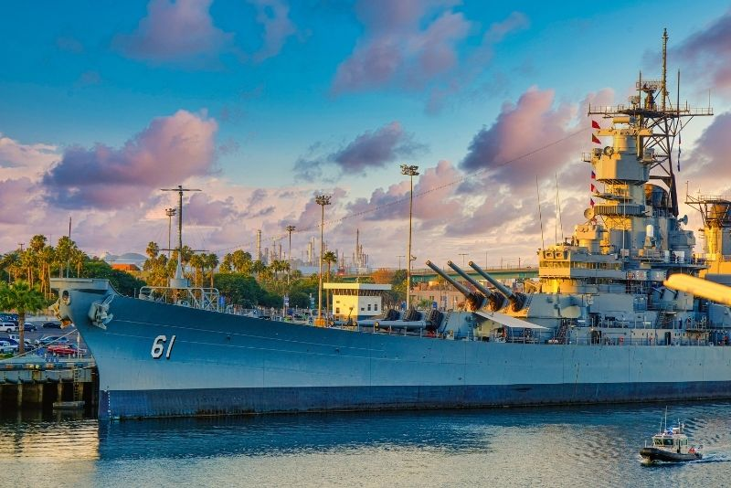 USS Iowa Battleship Museum, Los Angeles