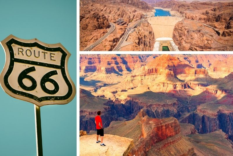 Vegas: Grand Canyon, Hoover Dam & Route 66 Small-Group Tour