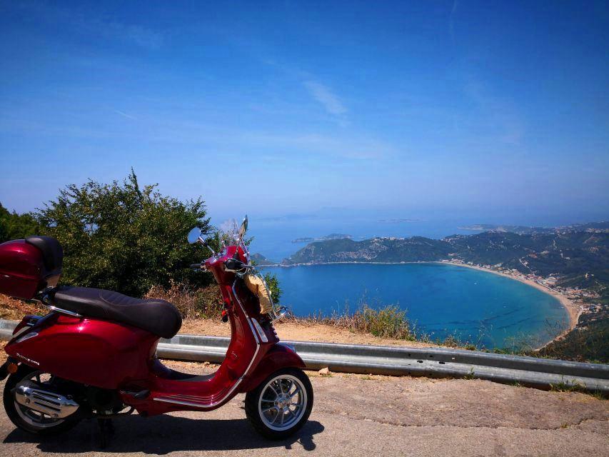 Vespa tour Corfu