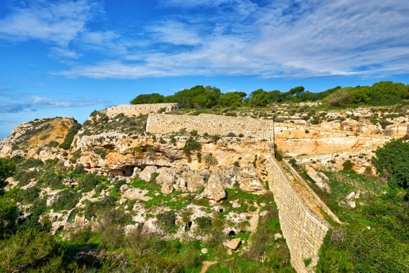 Victoria Lines, Malta