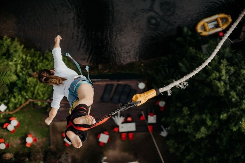 bungee jump at Skypark by AJ Hackett in Cairns