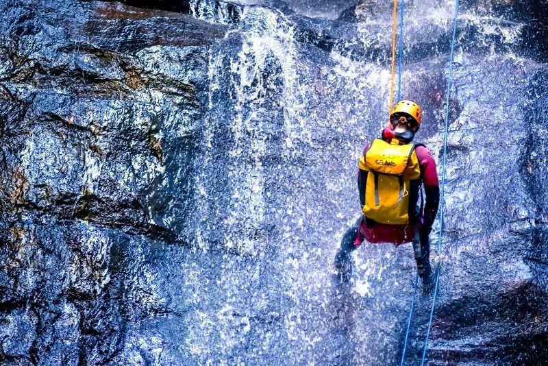 canyoning at Behana Canyon