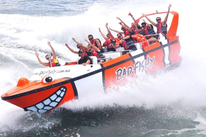 jetboat tour in Cairns