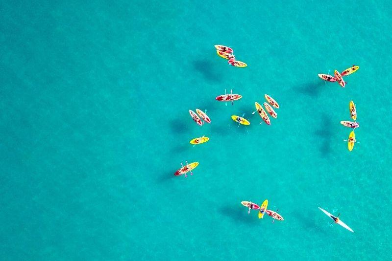 kayaking at Marina Del Rey