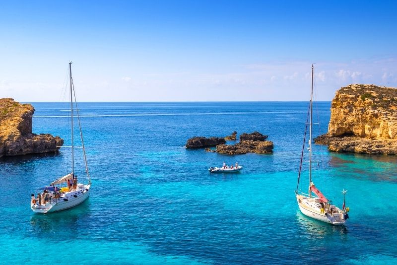 sailing trips in Malta