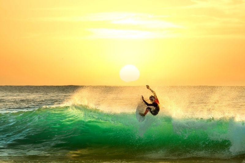 surfing in Cairns