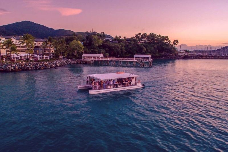 Airlie Beach sunset cruise