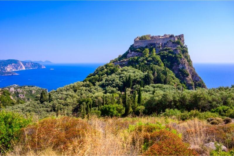 Angelokastro Castle Corfu