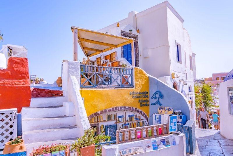 Atlantis Buchhandlung Santorini
