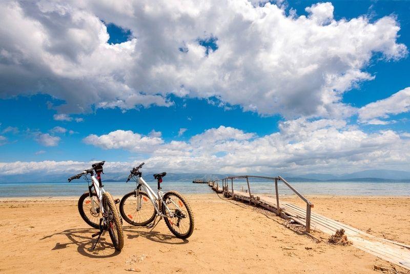 Bike tour corfu