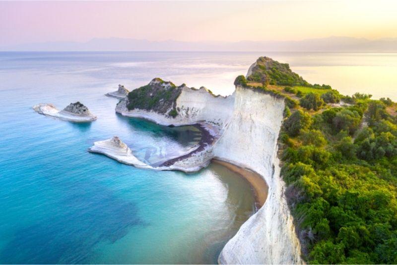 Cape Dastris Corfu
