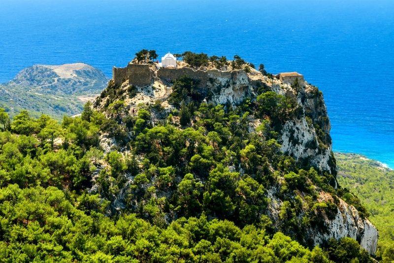 Castle of Monolithos Rhodes