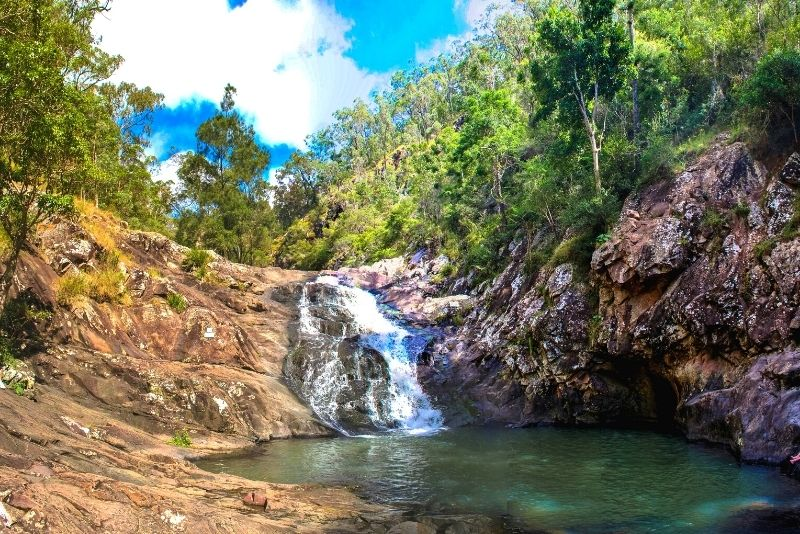 Cedar Creek Falls near Airlie Beach