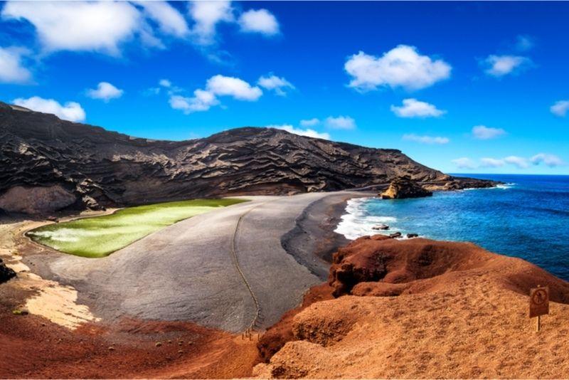 El Golfos Green Lagoon Lanzarote