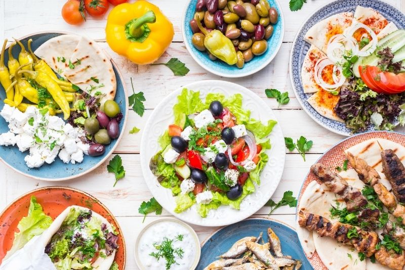 Griechische Essenstour