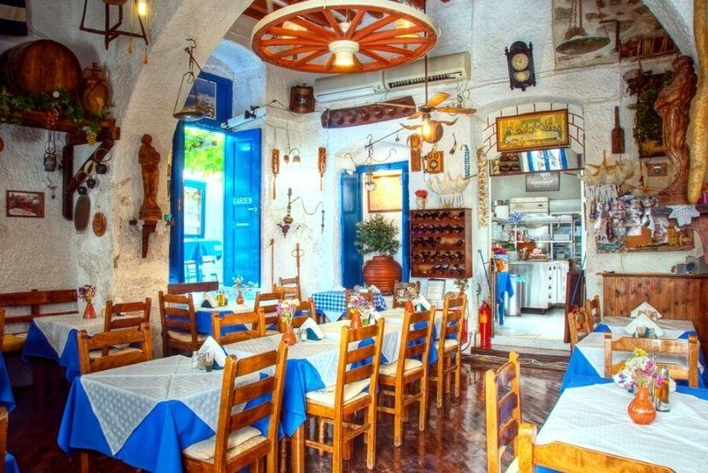 Griechisches traditionelles Restaurant