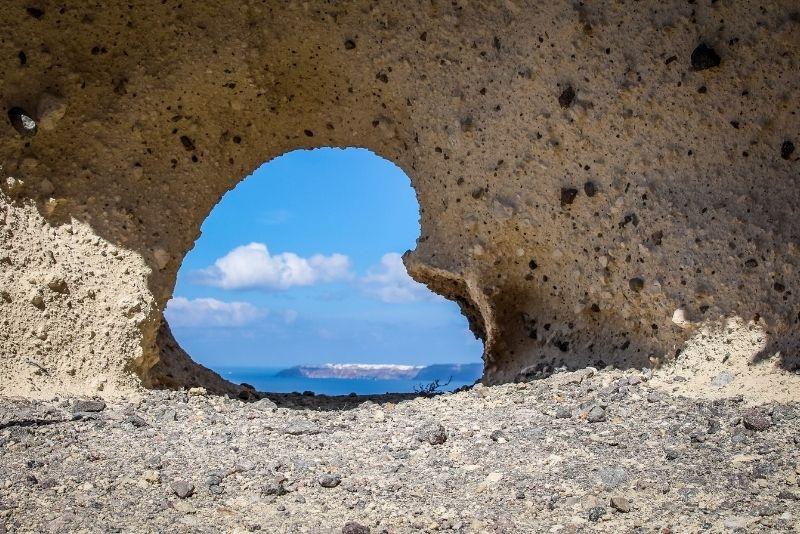 Herz von Santorini