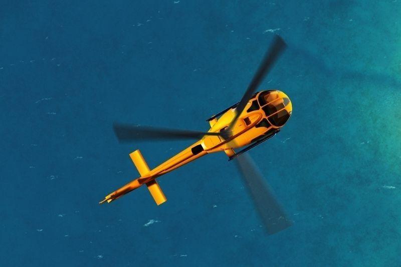 Hubschraubertour Santorini