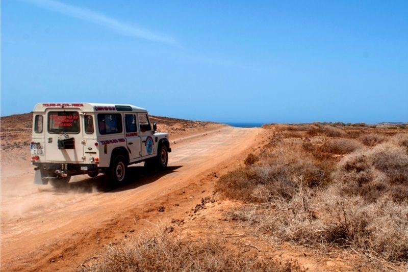 Jeep tour Lanzarote