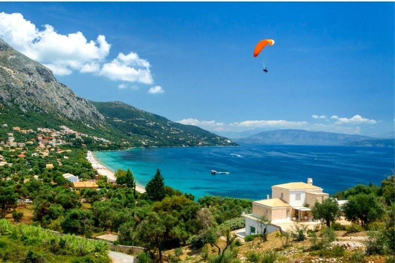 Paragliding Corfu