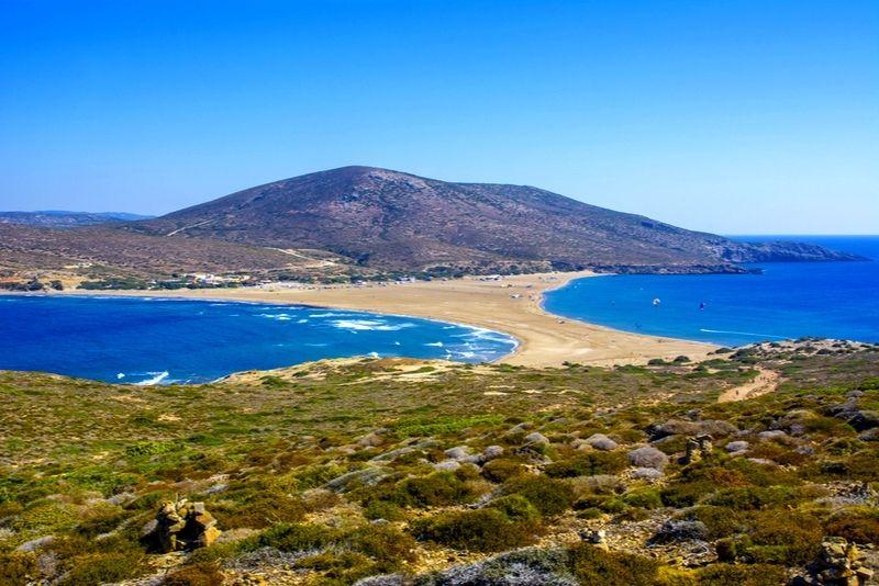 Prassonissi Beach Rhodes
