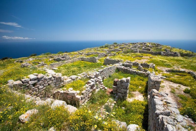 Ruinen der alten Thera