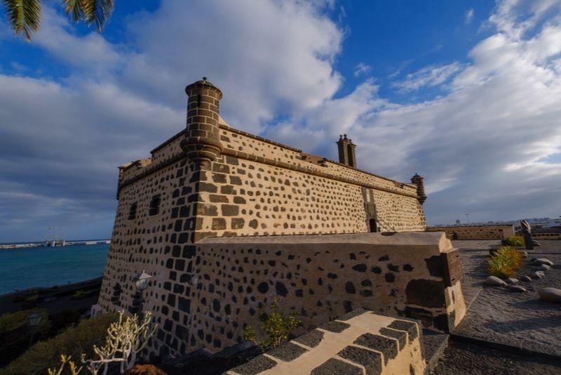 San Jos Castle in Arrecife