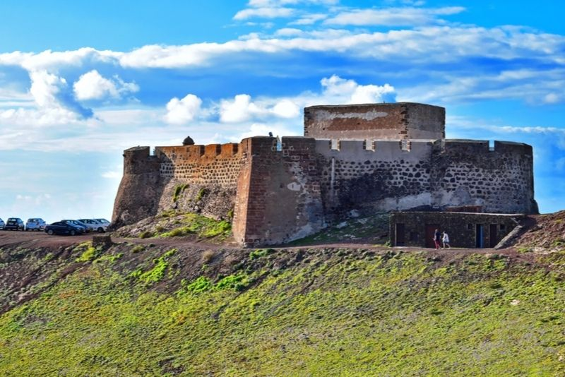 Santa Barbara Castle Lanzarote
