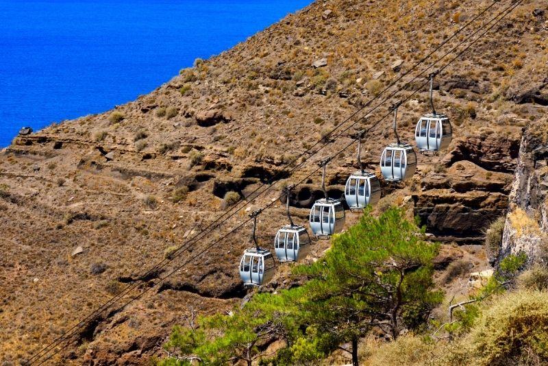 Santorini Seilbahn