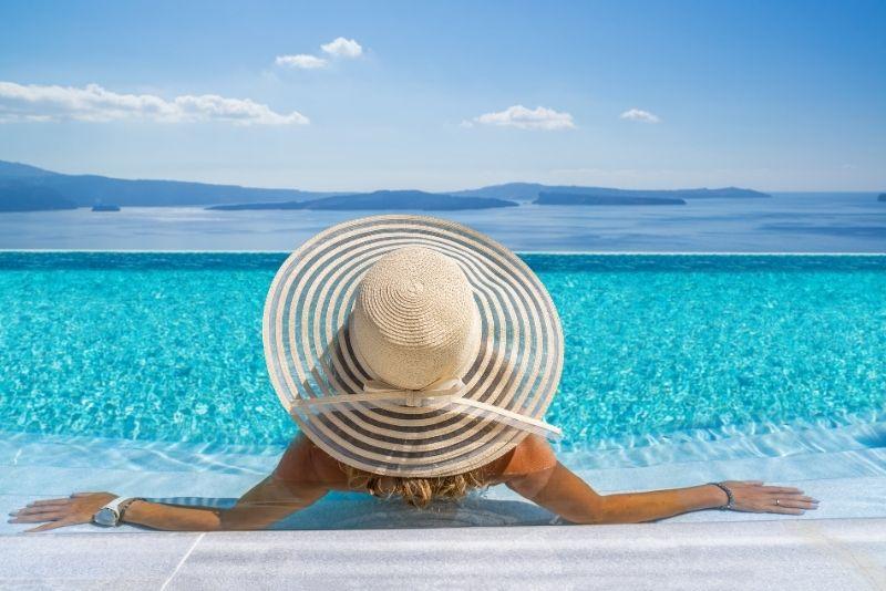 Santorini Infinity-Pool