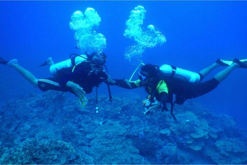 Scuba diving Corfu
