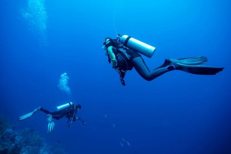 Tauchen Santorini
