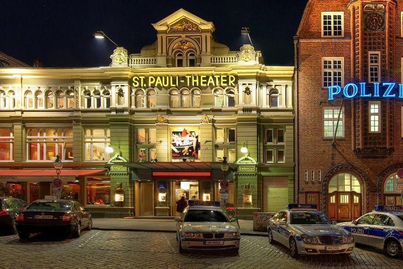 St. Pauli Viertel Hamburg