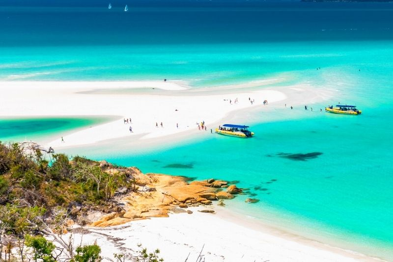 Whitehaven Beach boat tour from Airlie Beach
