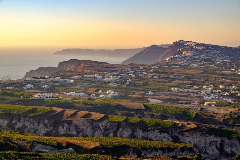 Weintour Santorini