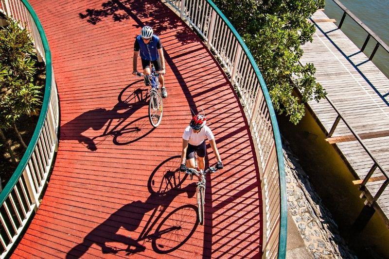 cycling tour of Brisbane