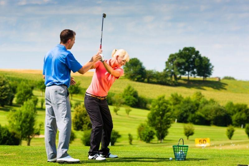 golf lesson in Gold Coast