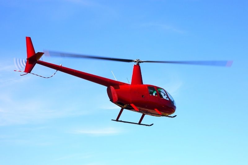 helicopter tour in Perth