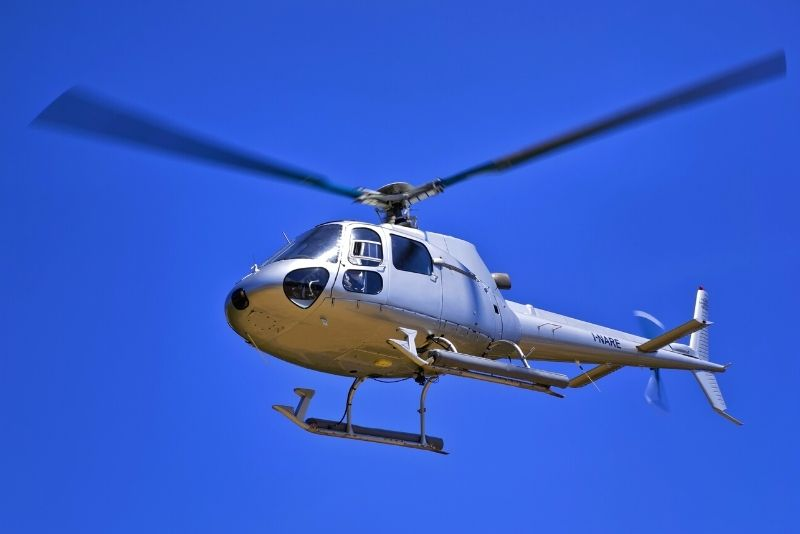 helicopter tour over Gold Coast