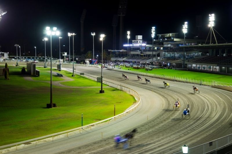horse racing at Gloucester Park in Perth